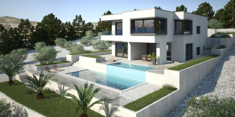 Modern sea view villa